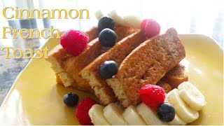 Cinnamon French Toast | [No Eggs] | Veġan | Korenn Rachelle
