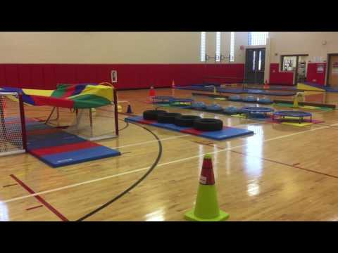 K-5 Obstacle Course in #physed