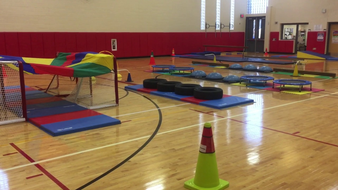 K 5 Obstacle Course In Physed Youtube