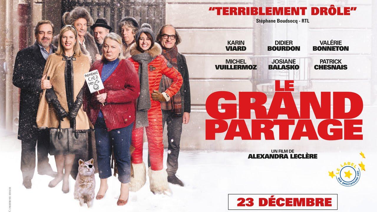LE GRAND PARTAGE - Bande-Annonce - au cinéma le 23 décembre