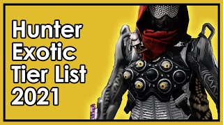 Destiny 2: The Best and Worst Hunter Exotics - Armor Tier List 2021