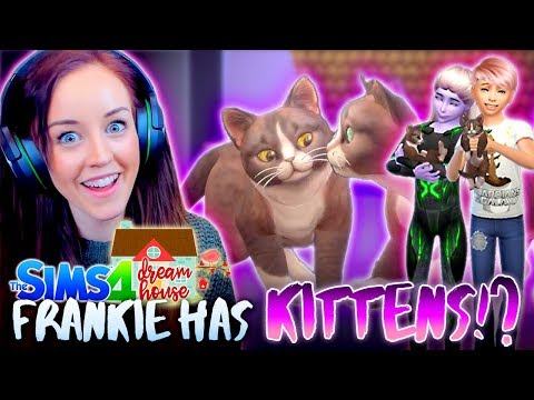WE HAVE KITTENS! 🐱 (But Frankie runs away!?) (The Sims 4 #70!🏡)