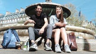 Париж: приключения без жилья и 12€...