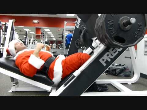 Santa Swole at NYSC Wall Street 12 11 2014