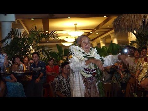 Kumu hula Joan Lindsey honored in November 2013. Video courtesy Hula Preservation Society