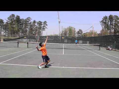 NTRP 4.5 Tennis Practice & Match