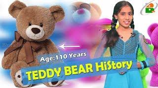 The History of the Teddy Bear || 110 years of Teddy Bears || టెడ్డి బేర్ కి  110 ఇయర్స్ ||  Bumi
