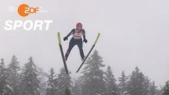 Entscheidung im Skispringen der Damen| das aktuelle sportstudio - ZDF