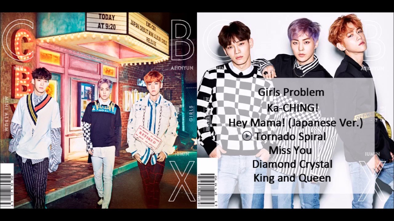 [FULL ALBUM/MP3] EXO-CBX - Girls (Japanese Mini Album)