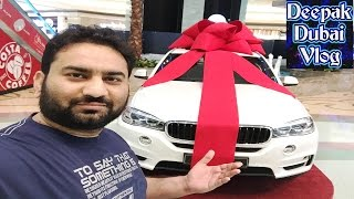 Winning BMW X Model Car during DSF!!! #DeepakDubaiVlog