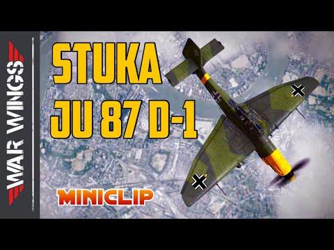 STUKA JU 87 D-1 Fighter War Wings Gameplay