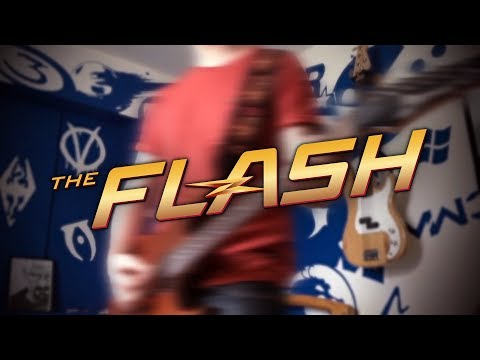 CW's The Reverse Flash Theme on Guitar