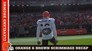 Orange & Brown Scrimmage Recap | Cleveland Browns