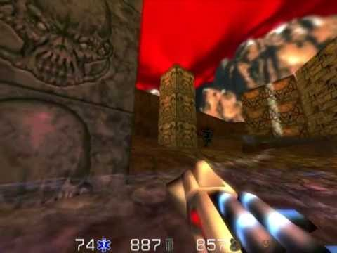 DOOMED (Doom remake for Quake 2): e2m8 (Tower of Babel)