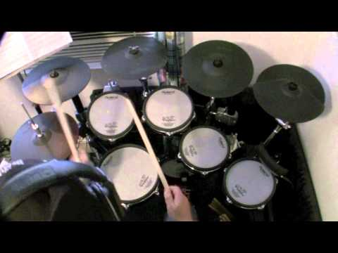 Enter Sandman - Metallica (Drum Cover) drumless track used
