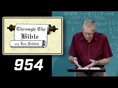 [ 954 ] Les Feldick [ Book 80 - Lesson 2 - Part 2 ] Daniel Part 2: Daniel 2:40-4:25 |b