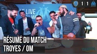 Résumé du match Troyes / OM avec Tous Salopards !