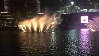 Dubai Fountain Aa bali habibi