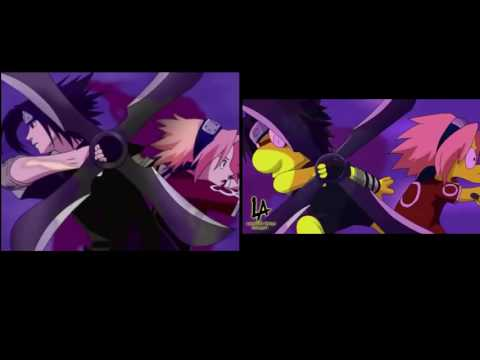 baruto & Naruto 4th opening Side by side eng by Leonardo Amaya