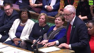 Corbyn tears Theresa May's Universal Credit plans apart