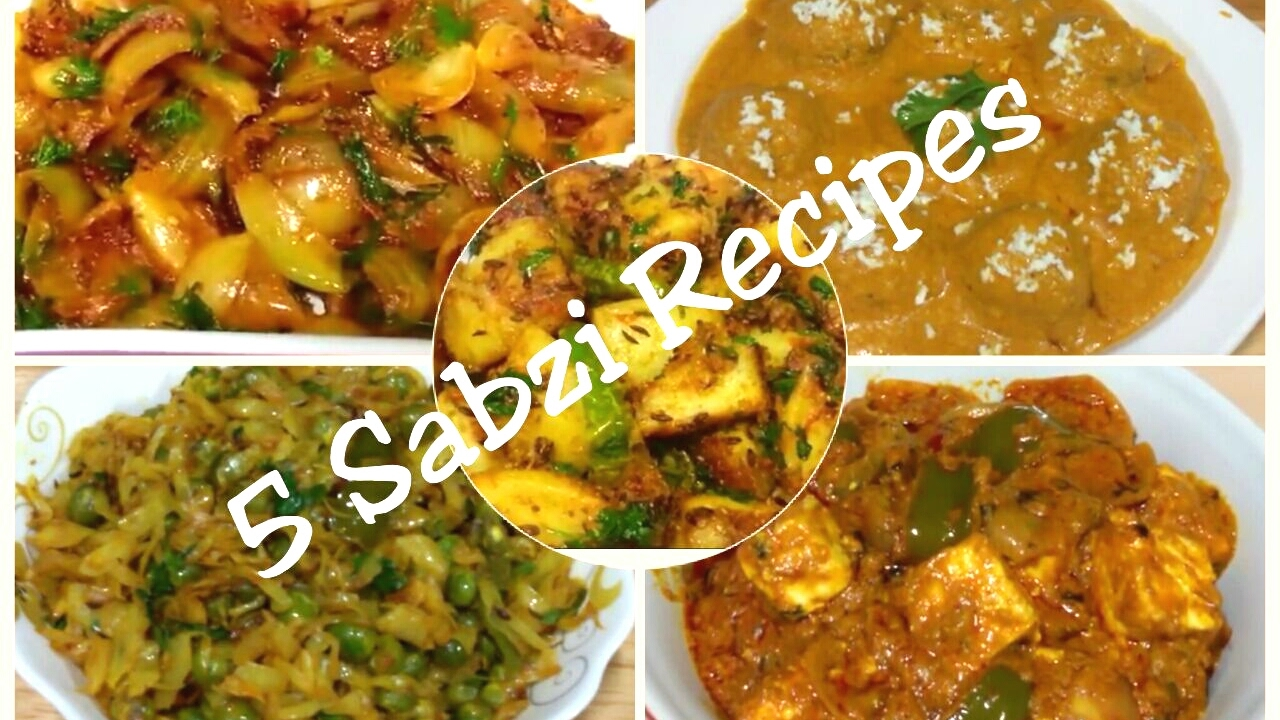 Best 5 indian sabzi recipessimple and easy indian vegetables best 5 indian sabzi recipessimple and easy indian vegetables recipeskadai paneeronionalookoft forumfinder Image collections