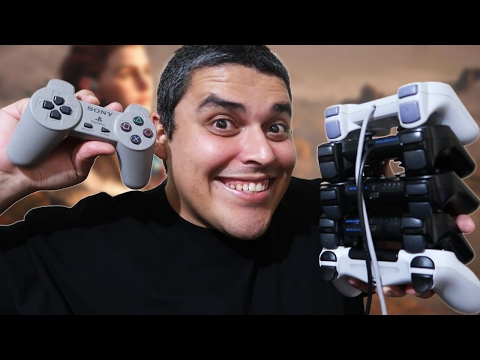 A Evolução dos Controles do Playstation
