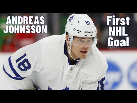 Andreas Johnsson #18 (Toronto Maple Leafs) first NHL goal 17.03.2018