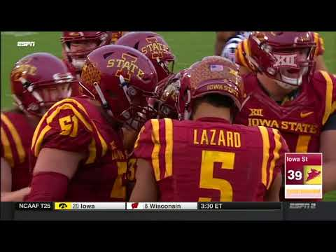 Oklahoma State at Iowa State Football Highlights