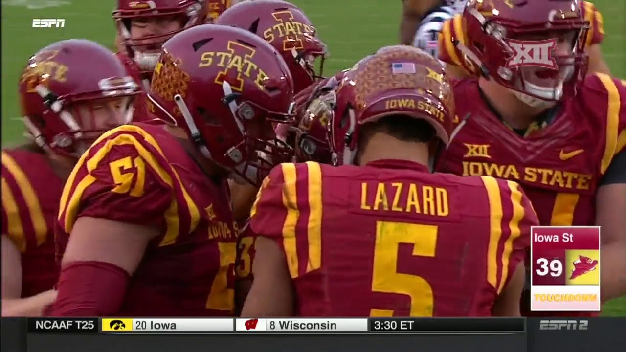 oklahoma state at iowa state football highlights youtube