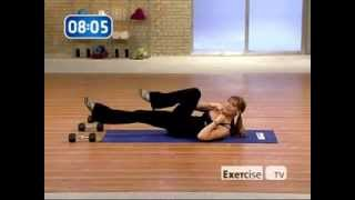 Holly Perkins, 20 Minutes Sweat Workout (Exercise TV)