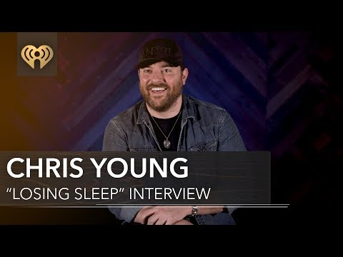 """Chris Young Wrote """"Losing Sleep"""" 2 Years Ago!   Exclusive Interview"""