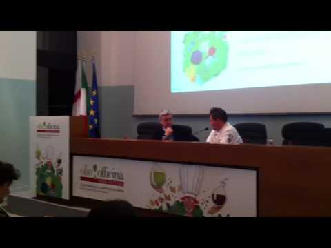Chef. Gianfranco Chiarini - Official Presentation to the Italian Press of his latest book - Video 1