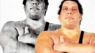WWE Andre The Giant Theme Song R.I.P