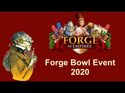 FoEhints: (Jan 27th: Colossos) Forge Bowl Event 2020 In Forge Of Empires