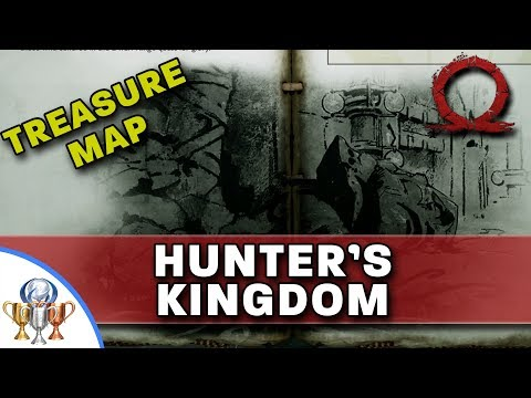 God of War Treasure Map - Hunter's Kingdom - Map and Dig Spot Locations