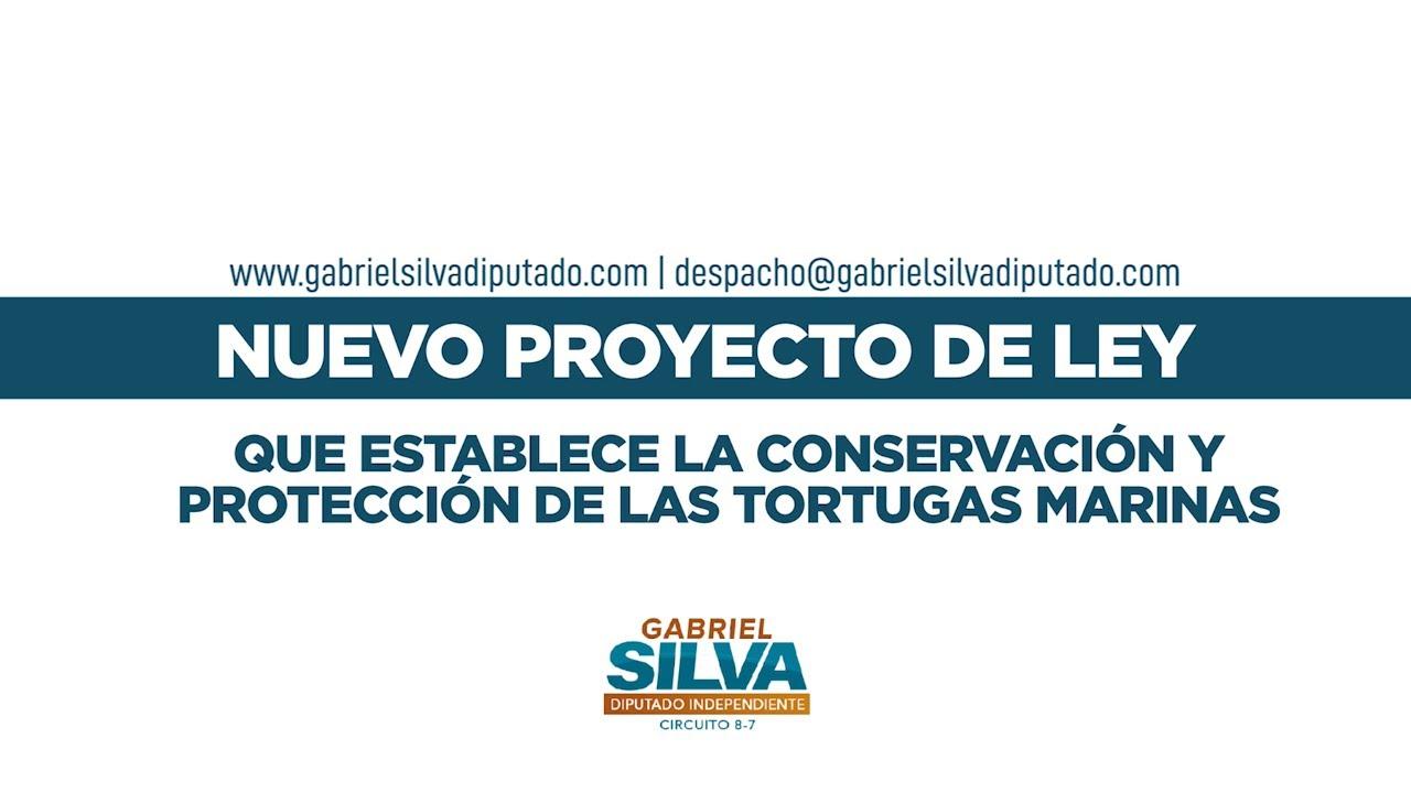 Gabriel Silva - Anteproyecto de ley que establece la conservación y protección de Tortugas Marinas