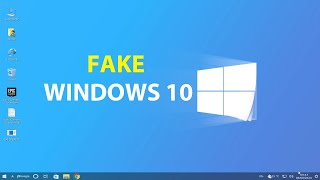 Installing a fake Windows 10