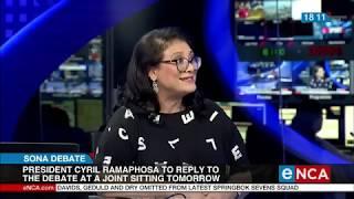 Political Analyst Karima Brown Weighs In On Parliamentary Sona Debate