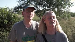 safariLIVE crew meets you - Richard and Sharon Beard stop by for a visit! thumbnail