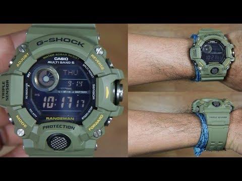 c4b70dadb38f CASIO G-SHOCK RANGERMAN GW-9400-3 TRIPLE SENSOR - UNBOXING - YouTube