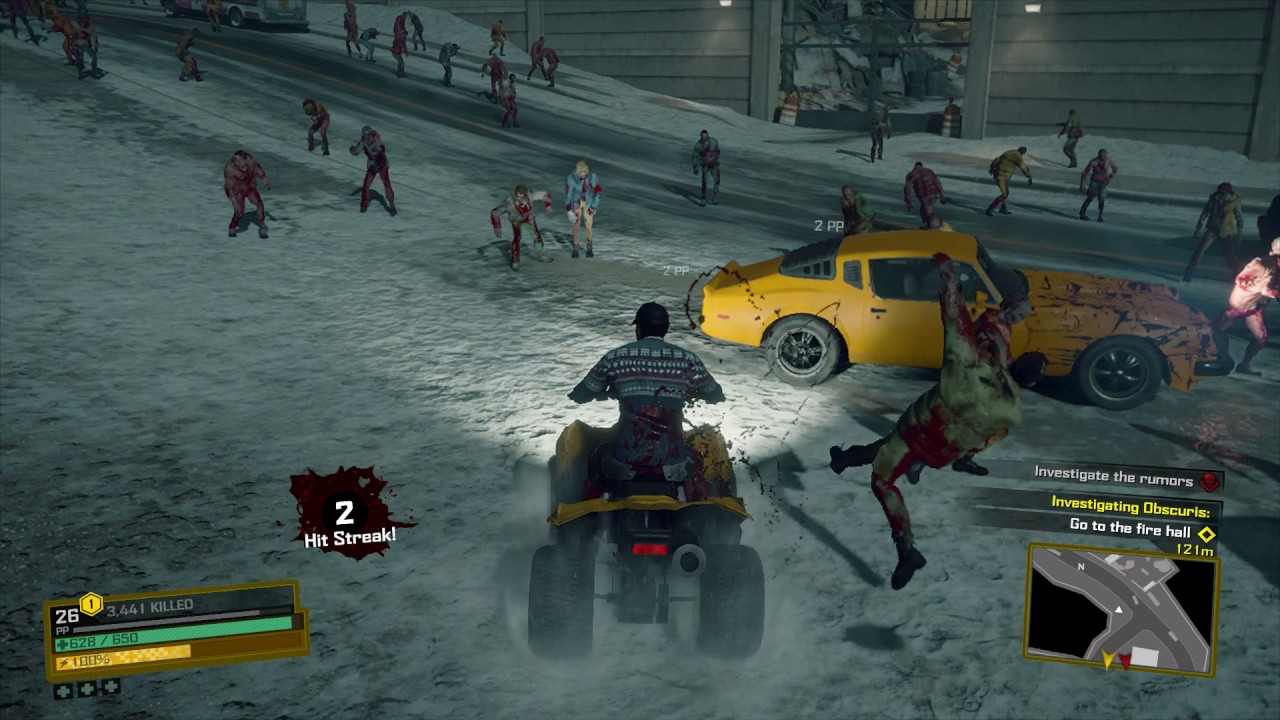 Dead Rising 4 Old Town Muscle Car Atv Go Kart Vehicles