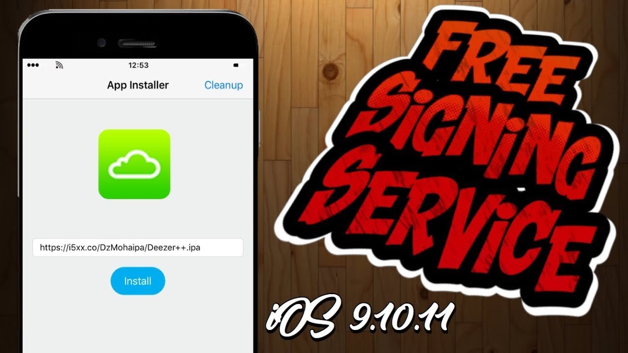 How to Get A Free Signing Service ( iPA Installer) ios 9,10,11 no Jailbreak  Or PC Needed