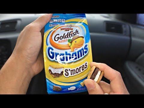S'mores Goldfish Grahams - Pepperidge Farm Review Ep.04