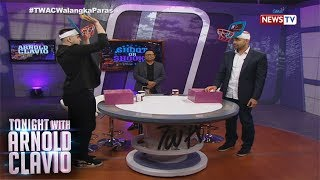 Tonight with Arnold Clavio: Andre at Benjie Paras, sumabak sa 'Shoot or Shookt' challenge!