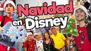 NAVIDAD en Disney con mi familia / Memo Aponte