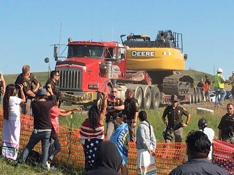 Standing Rock Protectors, No Dakota Access Pipeline Part 2 Mending The Hoop Show