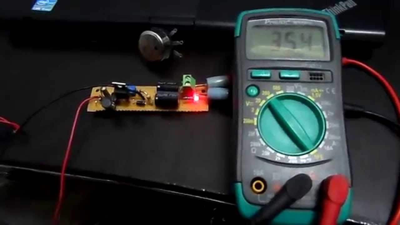 Simple 74v To 45v Boost Converter Using Mc34063 Youtube Voltage Regulator 12v 15a For Battery By