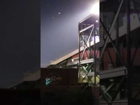 UFO above Coors Field?