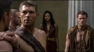 Сериал Спартак. Агрон поднимает бунт и уводит часть людей