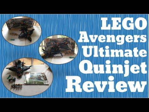 Review: LEGO Marvel Avengers Ultimate Quinjet - 76126